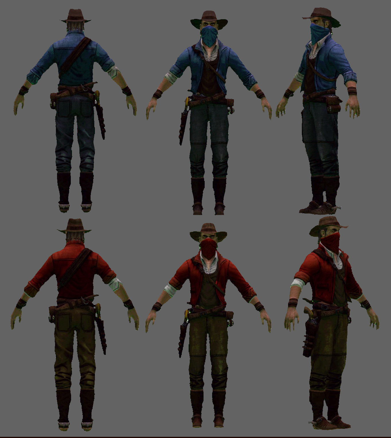 GunSlinger Pack (Red & Blue)