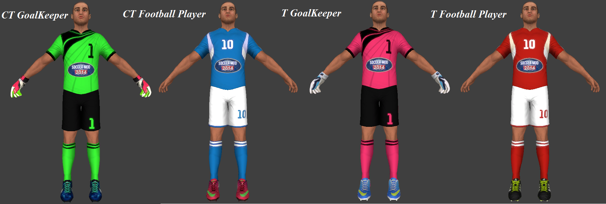 Soccer Pack (Football Players)