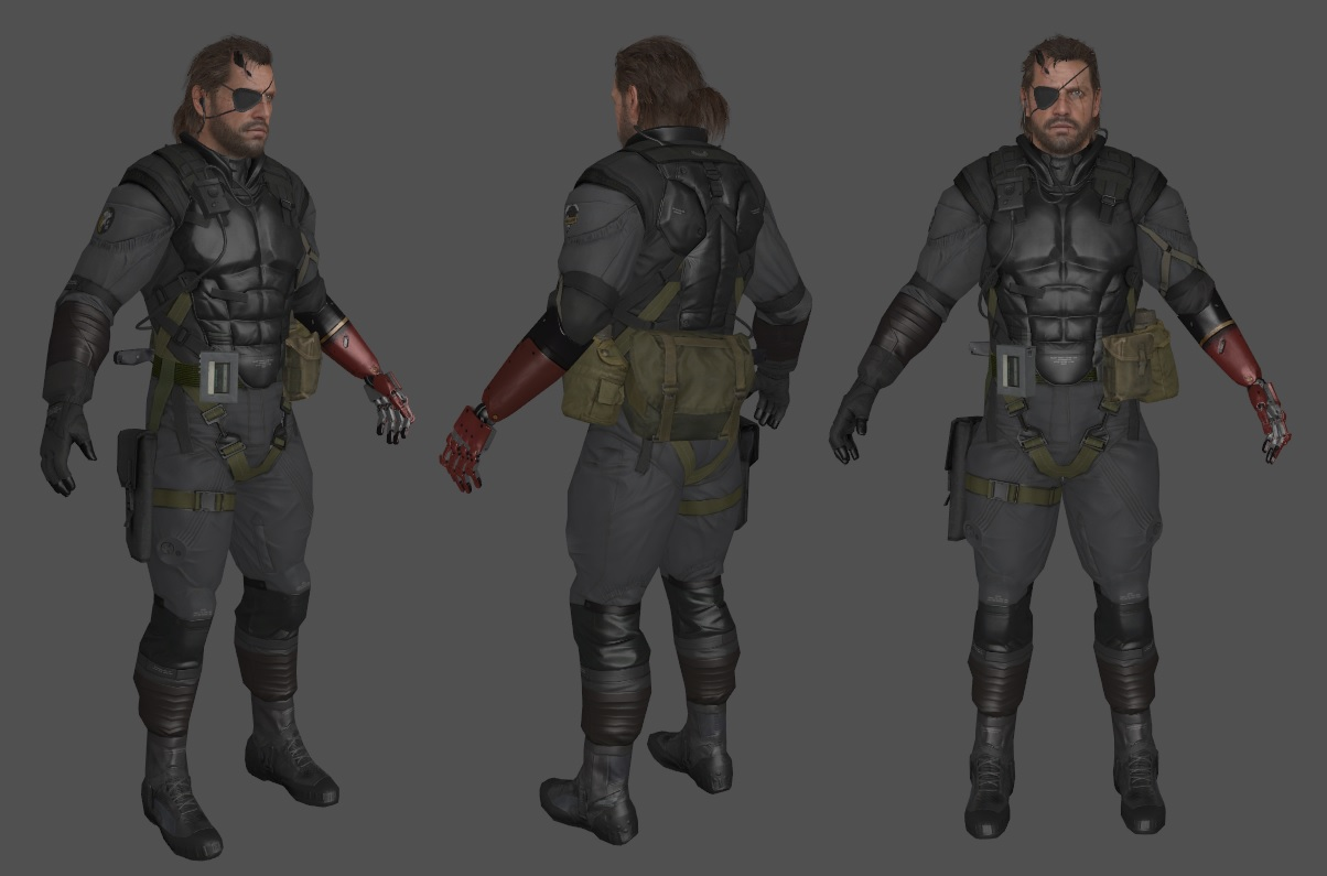 Big Boss (MGS V - Venom Snake Sneaking Suit)