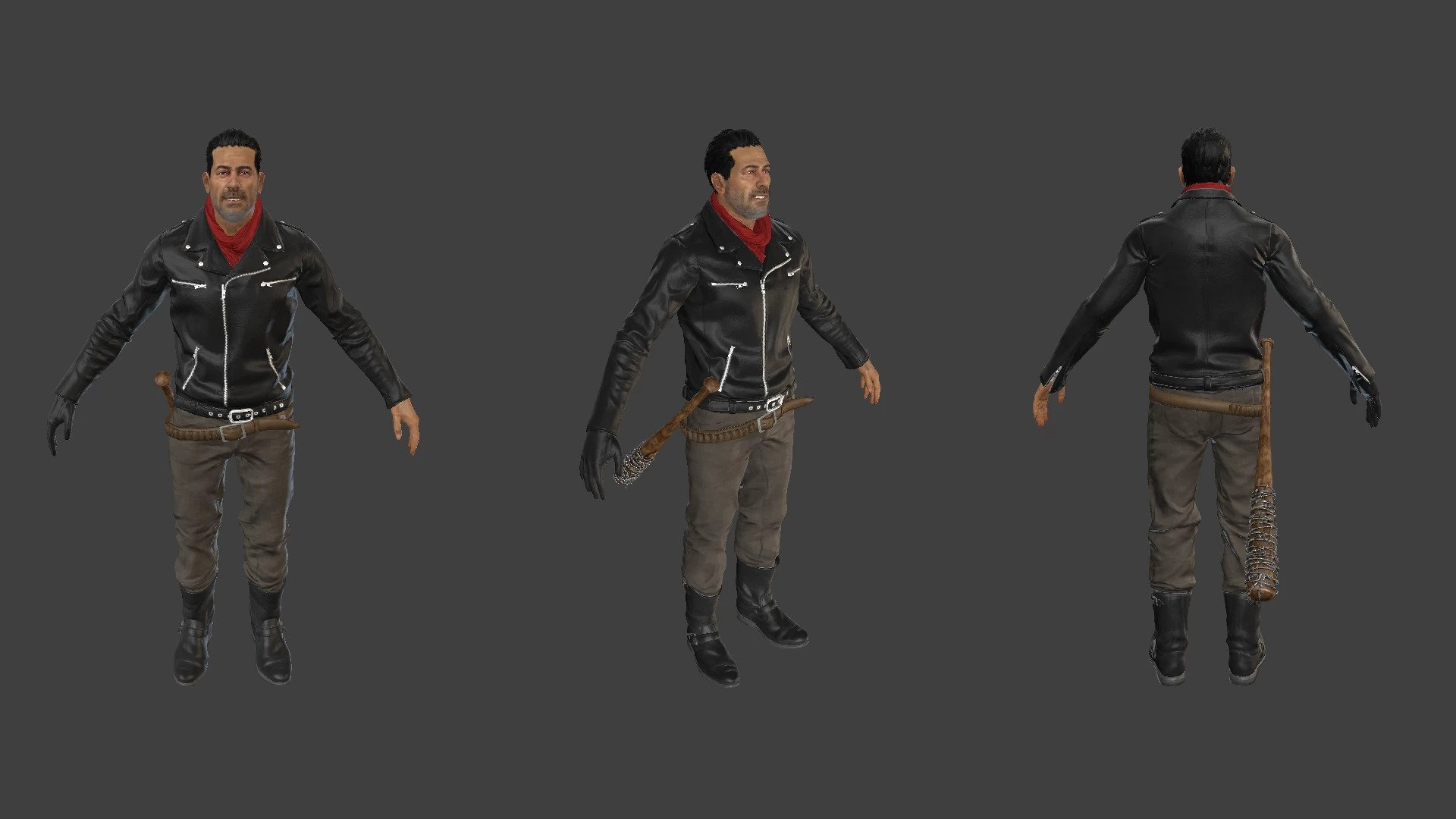 Negan (The Walking Dead - Tekken 7)