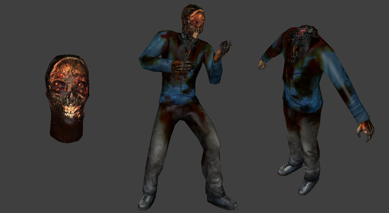 Corpse Zombie (Decapitation Support)