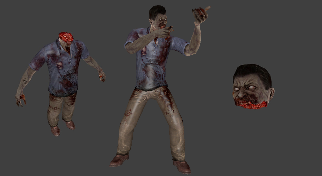 Zombie Man (Decapitation Support)