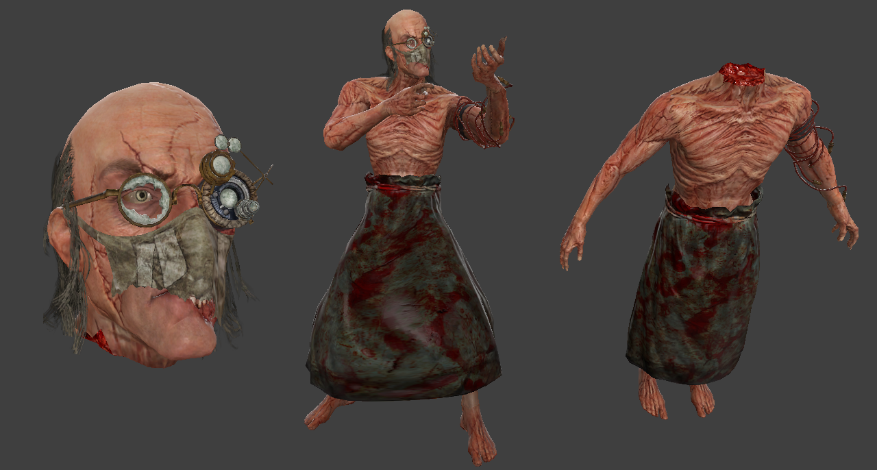 Dr. Trager (Outlast - Decapitation Support)