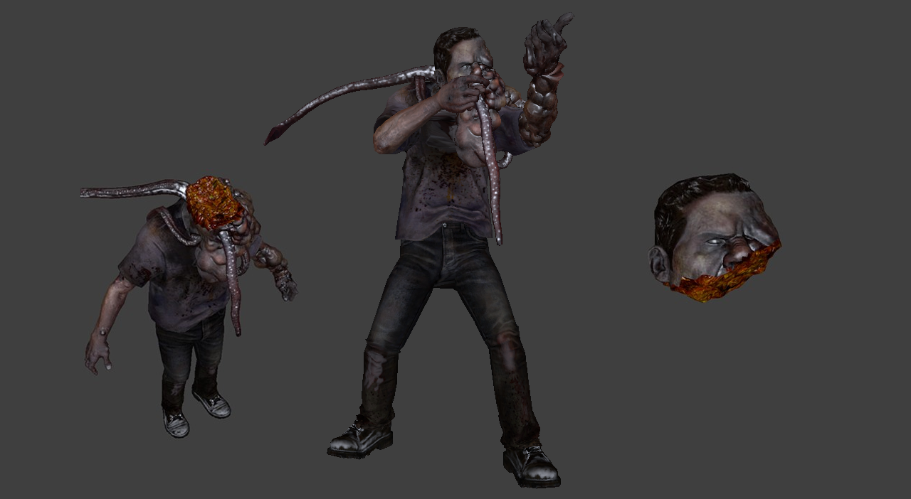 Smoker (L4D2 - Decapitation Support)