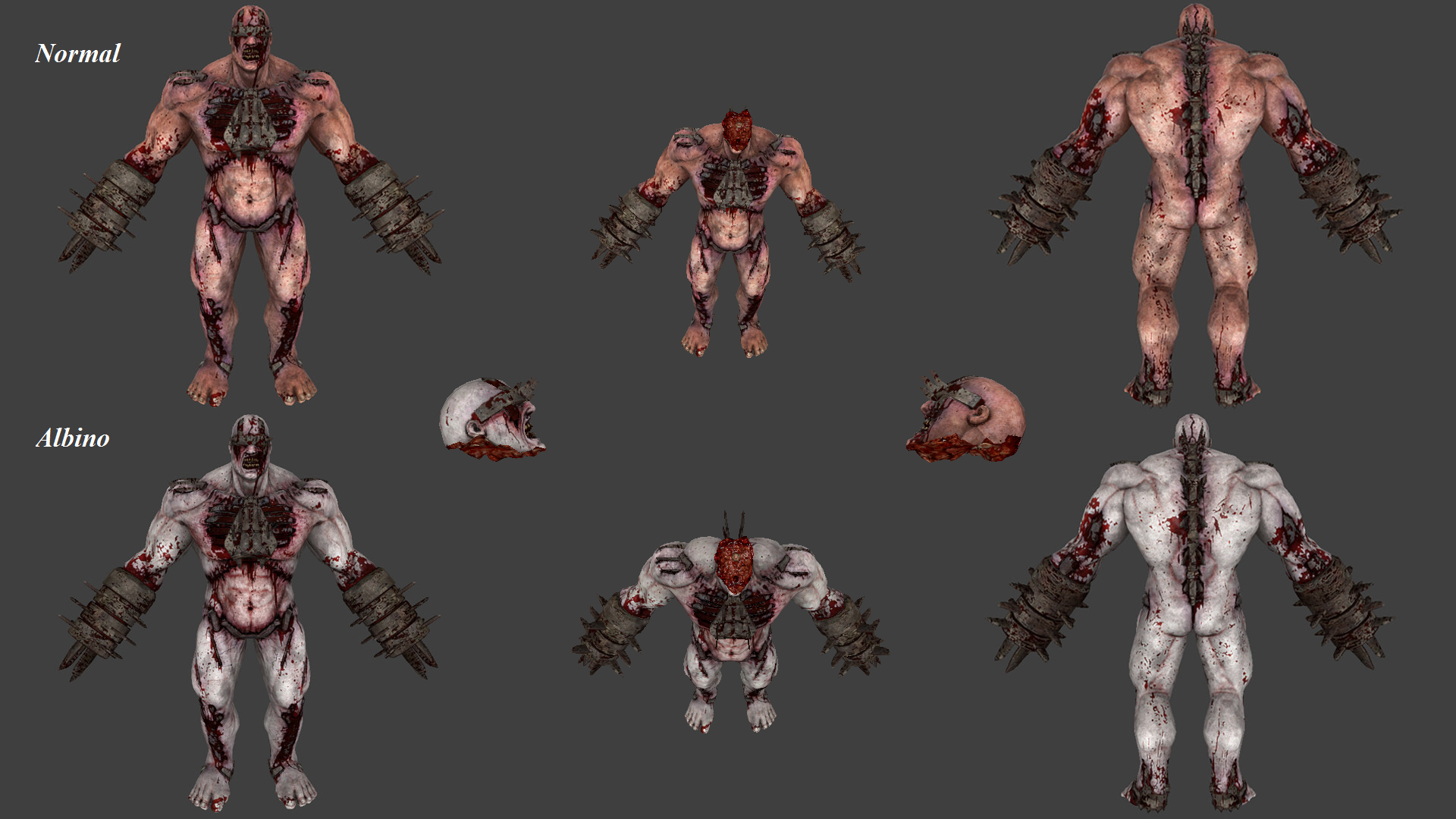 FleshPound Pack (Killing Floor - Decapitation Support)