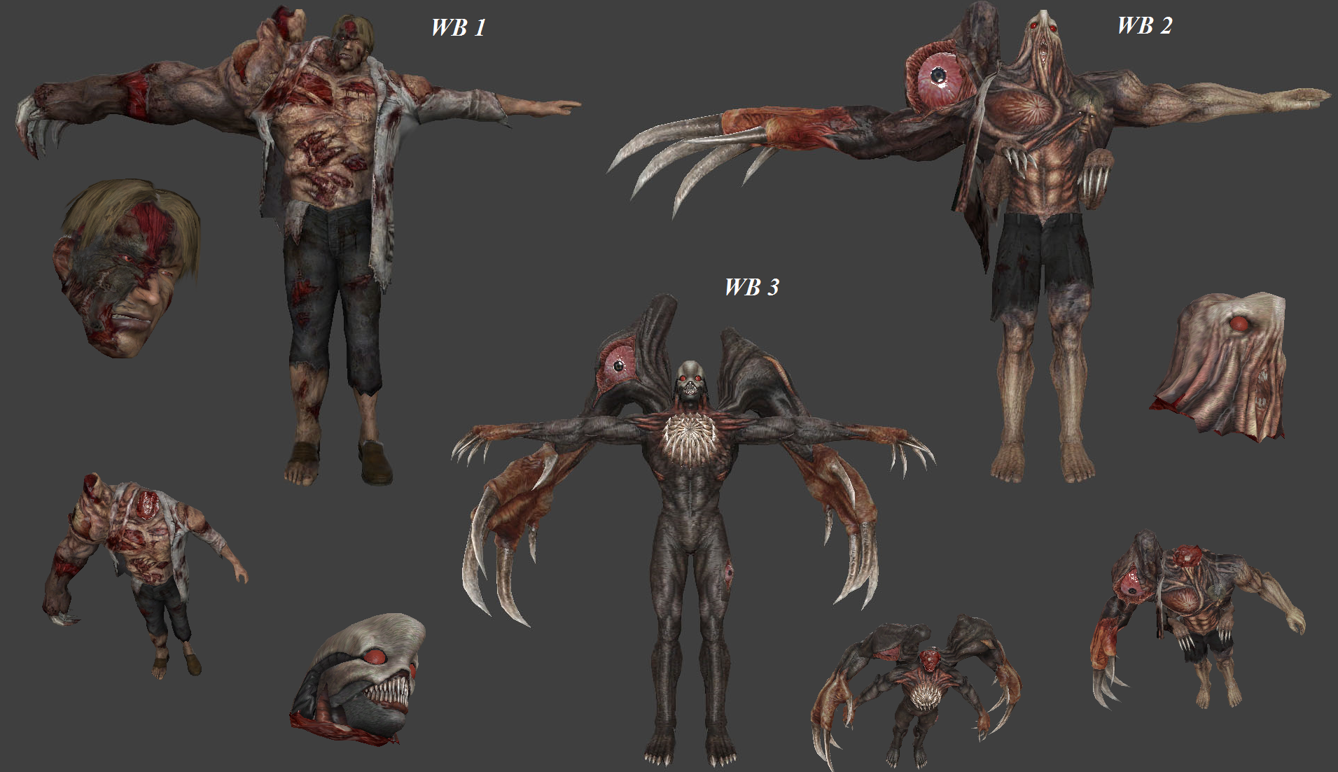 William Birkin Pack (Resident Evil - Decapitation Support)