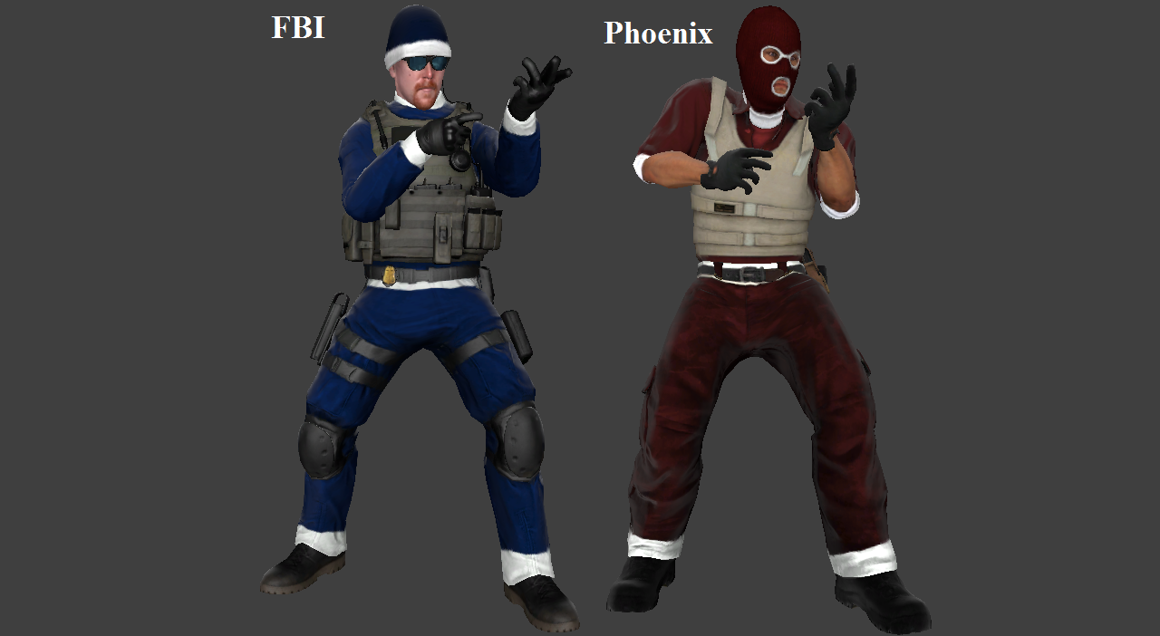 Christmas Pack (Old - FBI & Phoenix)