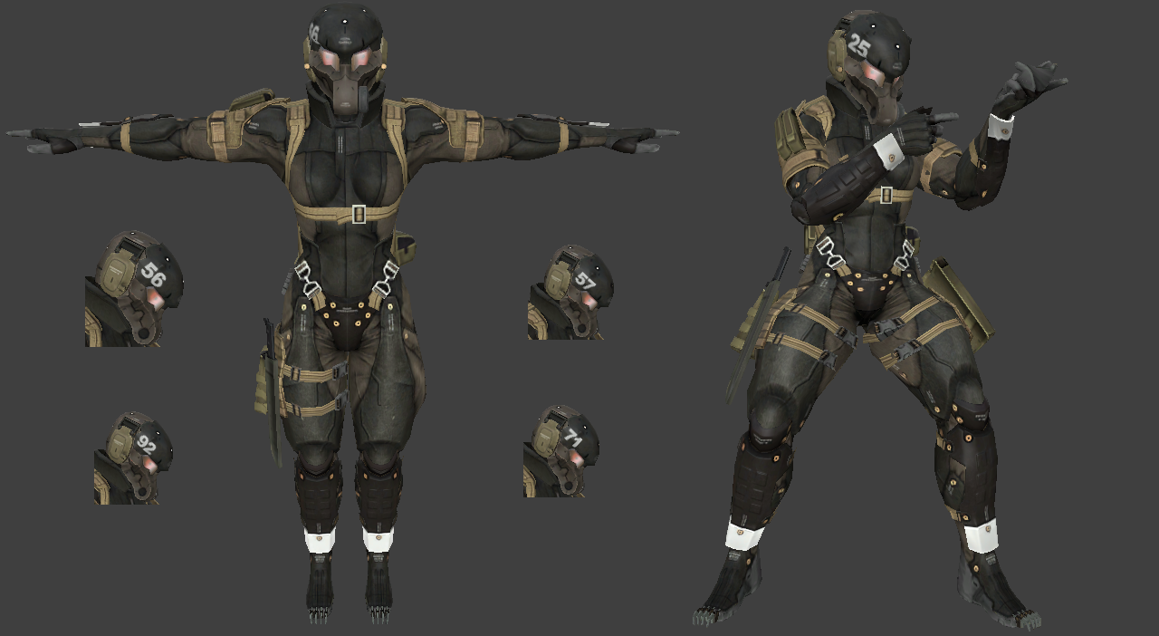 Haven Trooper Frogs Pack (25, 56, 57, 71, 92 - MGS 4)