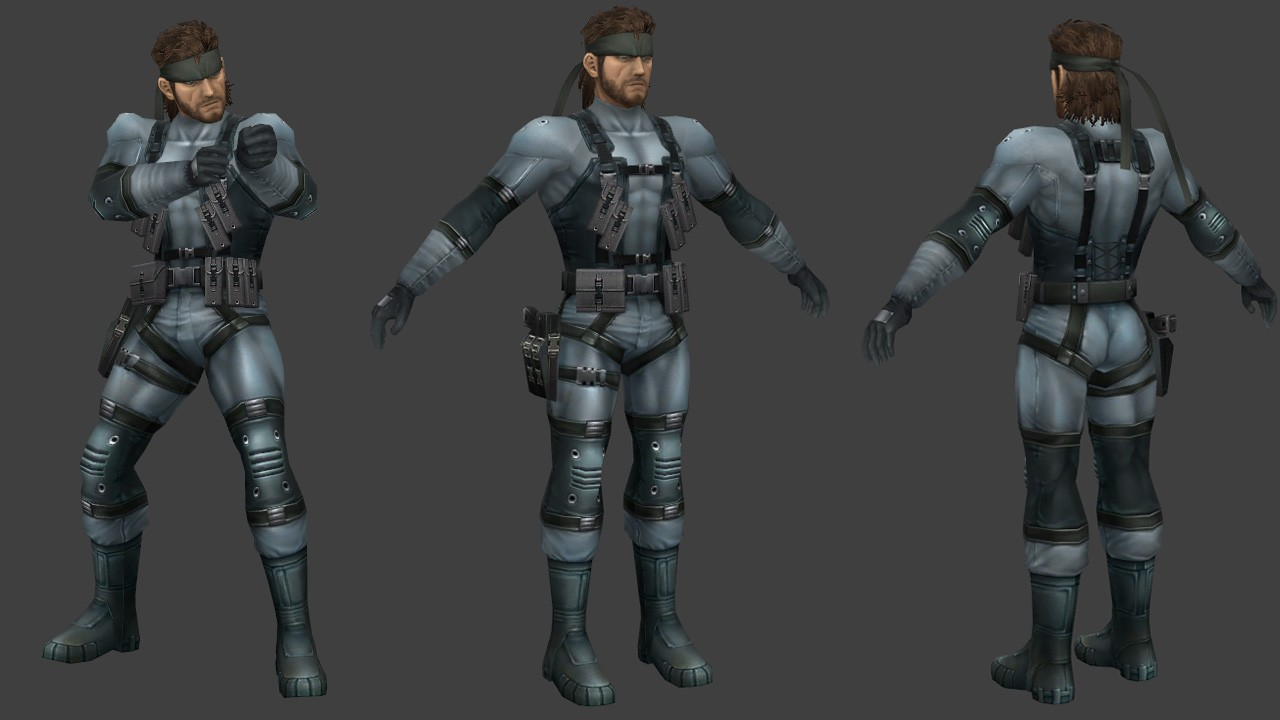 Solid Snake (Super Smash Bros. Brawl)