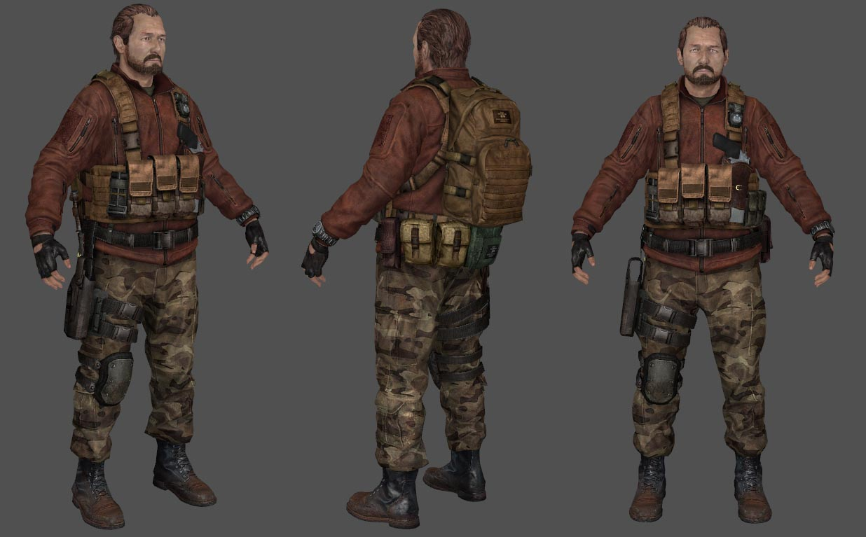 Barry Burton (RE2)