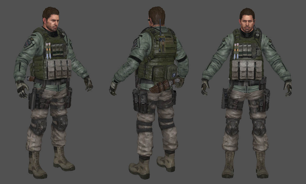 Chris Redfield (RE6)