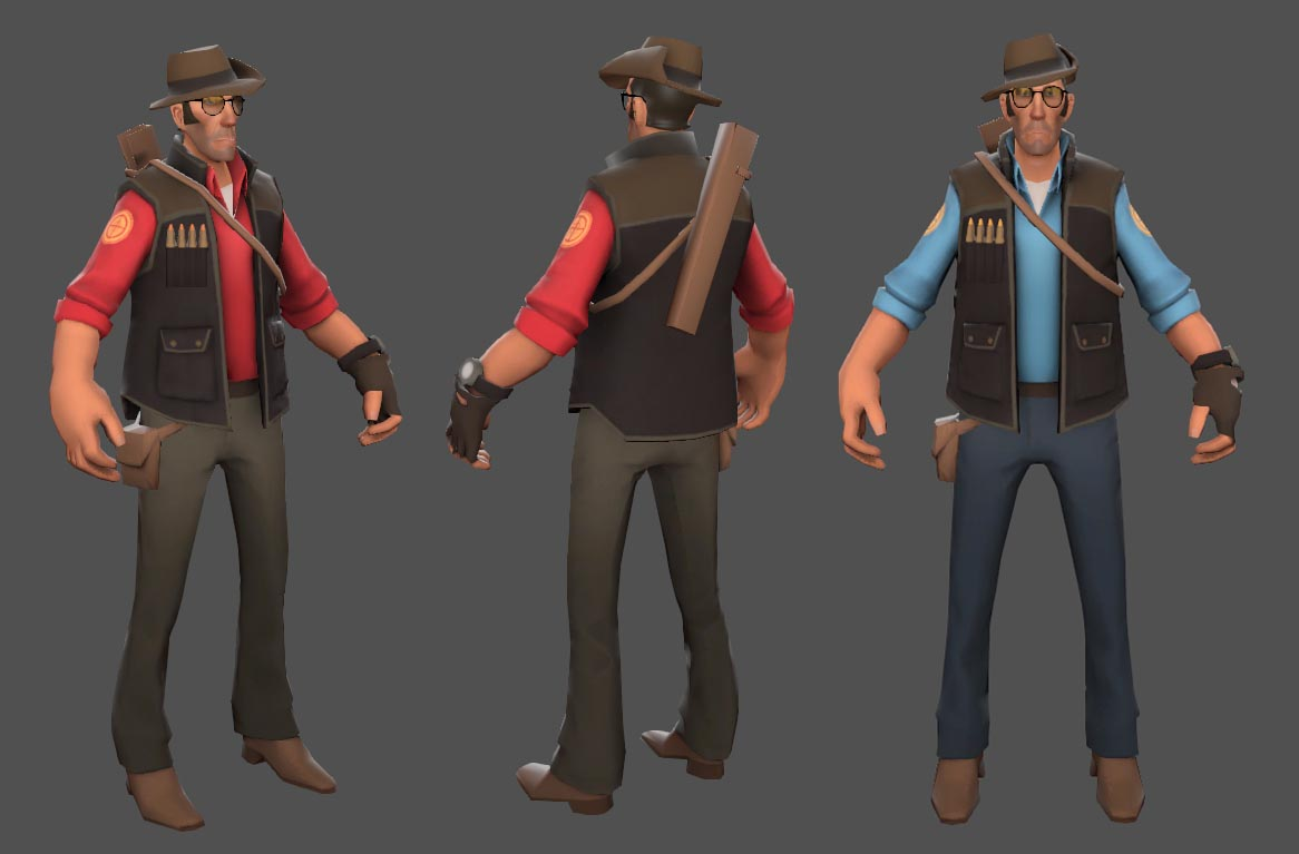 Sniper Pack (TF2 - Red & Blue)