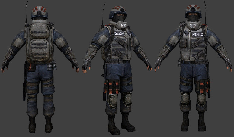 NK Police (Homefront)
