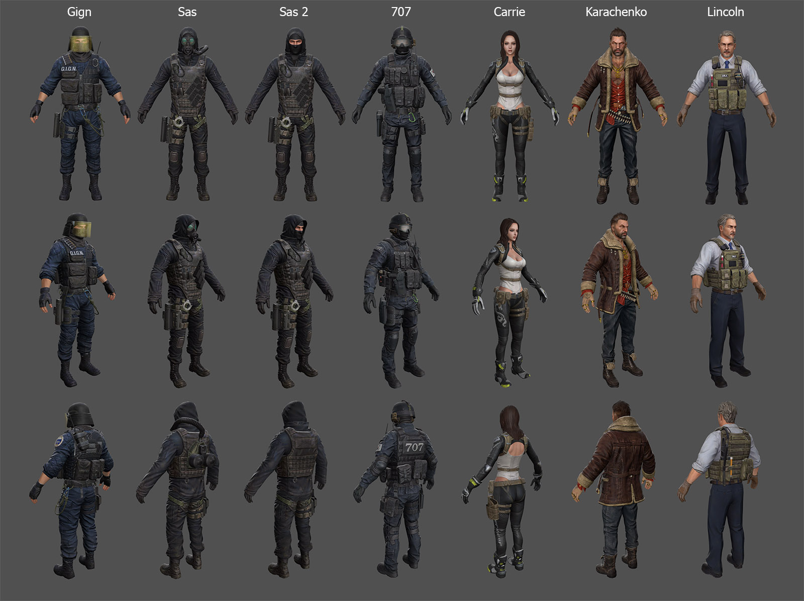 Characters Pack 2 (Counter Strike Online 2)